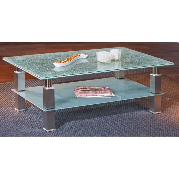 Table en verre basse maison design - Table basse gigogne verre ...