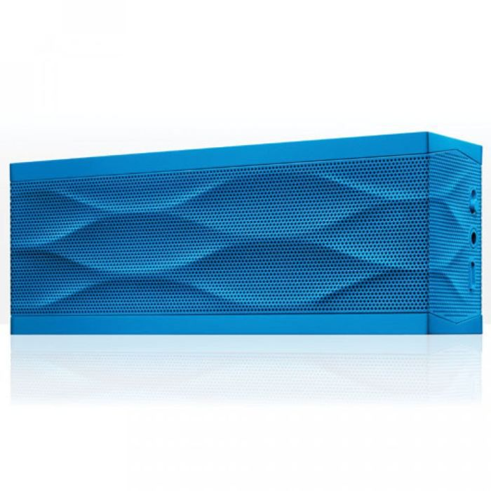 enceinte bluetooth jawbone jambox bleu enceintes. Black Bedroom Furniture Sets. Home Design Ideas