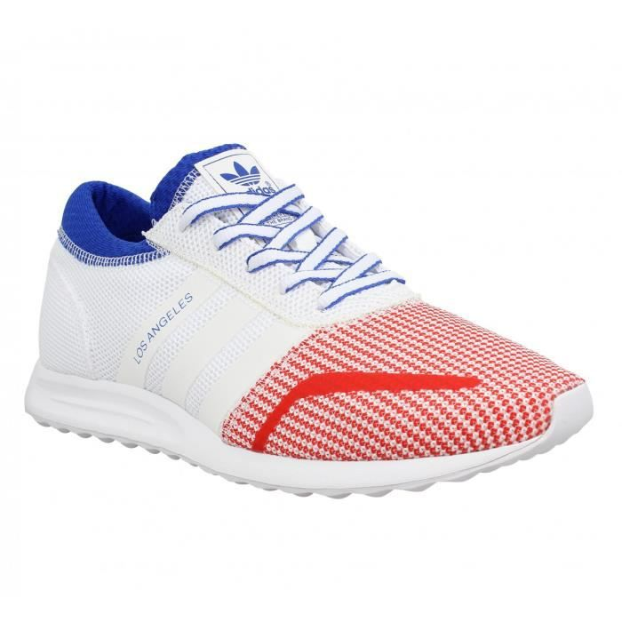 basket adidas bleu blanc rouge femme
