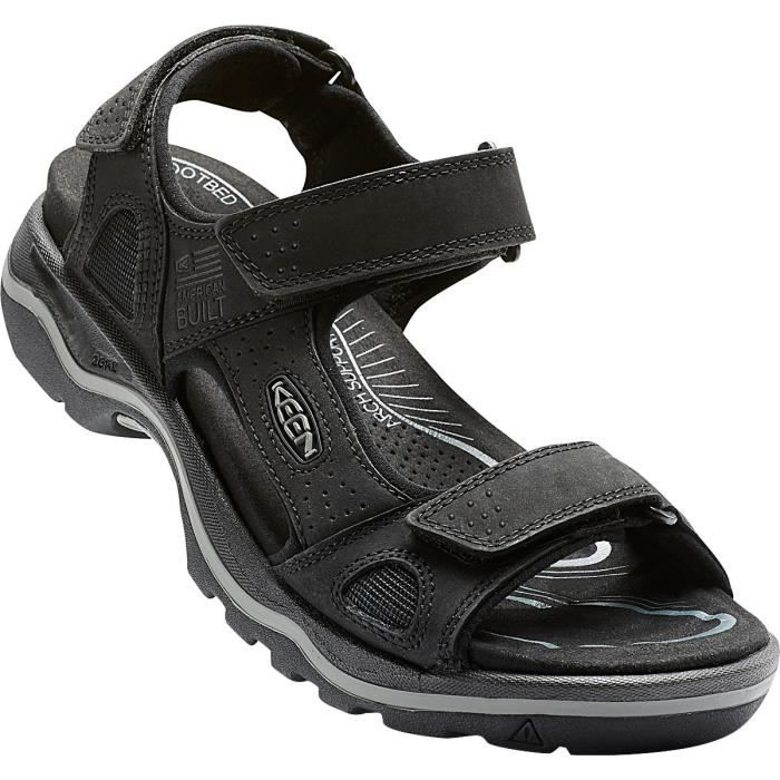 Keen Sandales Rialto 3 Point Homme Black/Neutral Gray
