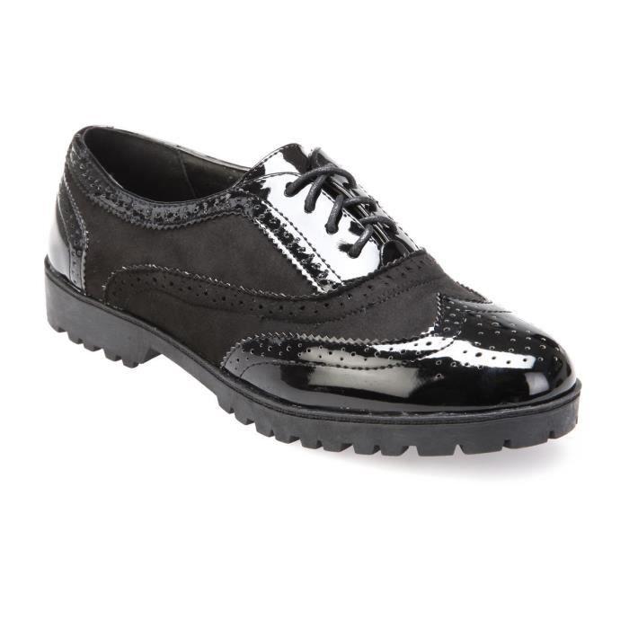 chaussure femme richelieu