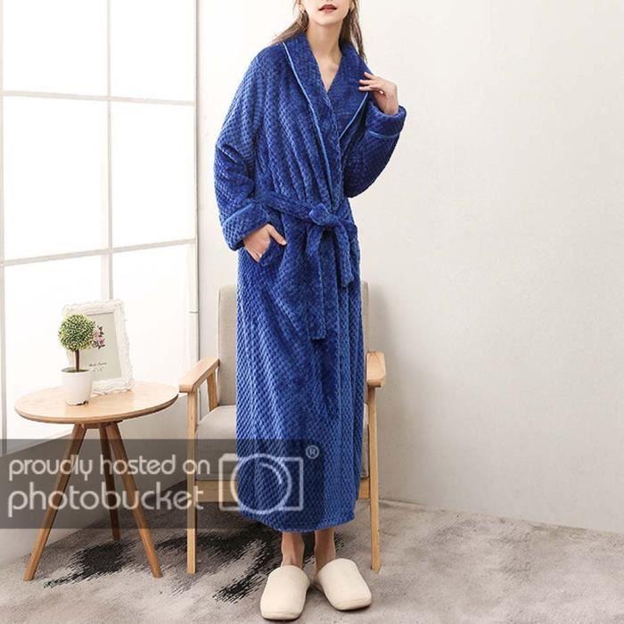 Femme Robe De Chambre En Flanelle Longue Bleu Roi M Bleu Roi Achat Vente Robe Bientot Le Black Friday Cdiscount