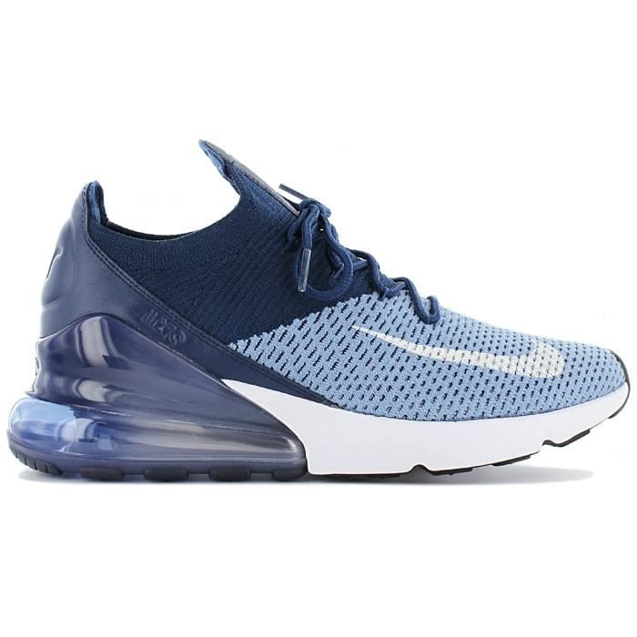 nike air max 270 flyknit sneakers basses homme