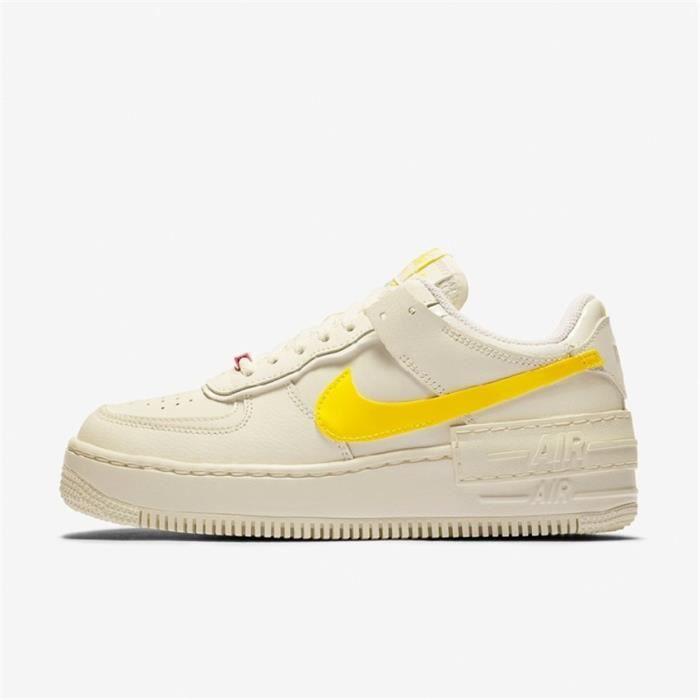 air force 1 femme jaune