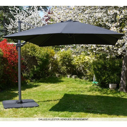 parasol terrasse. Black Bedroom Furniture Sets. Home Design Ideas