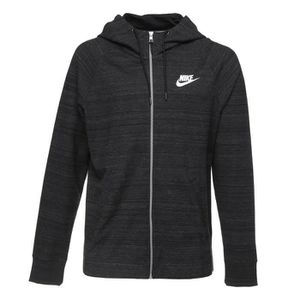 SWEATSHIRT NIKE Sweatshirt AV15 Fz Knit - Homme - Noir