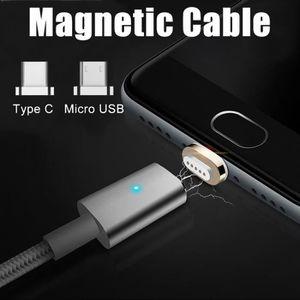 Câble - connectique GPS Type C magnétique Micro USB de charge rapide Charg