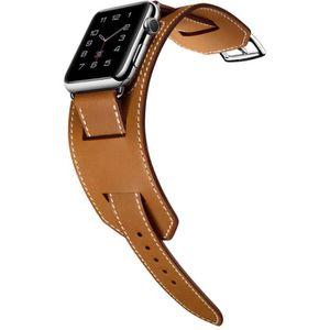 BRACELET DE MONTRE Bracelet en cuir véritable de bracelet de bande de