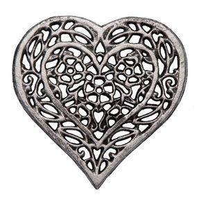 DESSOUS DE PLAT  Comfify Dessous de cœur en Fonte -Dessous de Plat