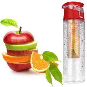 GOURDE 800ML Fruit Infusion Infuser Bouteille d'eau Intég