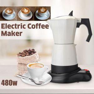 MACHINE À CAFÉ 480 W 6 tasses cafetière à thé électrique cafetièr