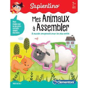 JEU D'APPRENTISSAGE CLEMENTONI Petit Savant - J'assemble mes animaux