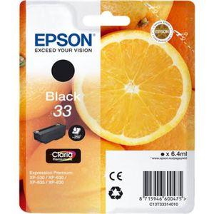 CARTOUCHE IMPRIMANTE EPSON - Cartouche d'encre Noire - Orange Claria Pr