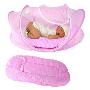 TENTE TUNNEL D'ACTIVITÉ Portable pliable Bébé Lit bébé Canopy Moustiquaire