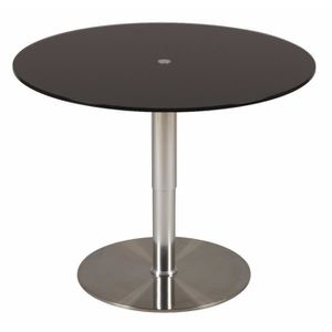 table ronde 90 cm achat vente table ronde 90 cm pas cher cdiscount. Black Bedroom Furniture Sets. Home Design Ideas