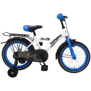 VÉLO ENFANT Vélo Enfants Garçon 16 Pouces Thombike Frein Avant
