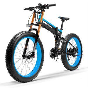 VTT T750Plus-UP de 26 pouces Vélo électrique pliant, m