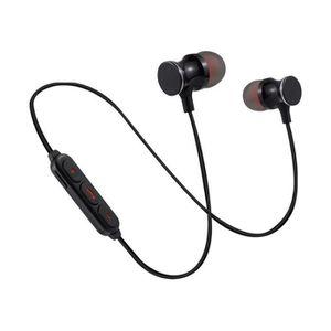KIT BLUETOOTH TÉLÉPHONE Ecouteurs Bluetooth Metal pour LG Leon Smartphone