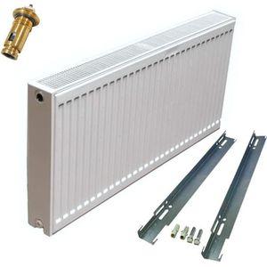 Compact Radiateur 600x800 mm Type 22 double chambre chauffage poele 6 ports