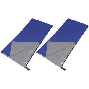 SAC DE COUCHAGE Lot de 2 sacs de couchage rectangulaires légers Bl