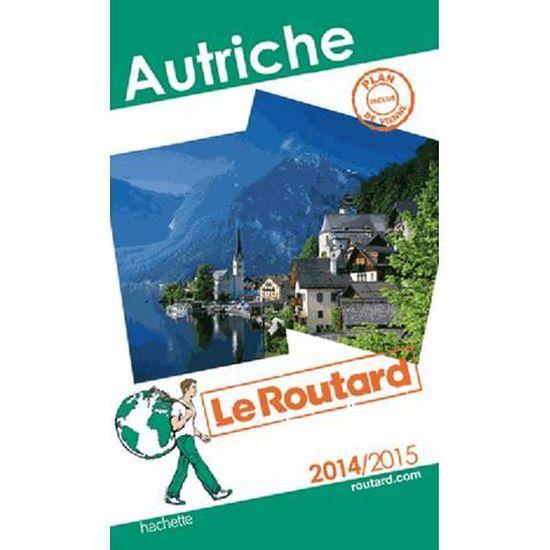 Autriche Achat Vente Livre Hachette Tourisme Parution 12 03 2014 Pas Cher Bientot Le Black Friday Cdiscount