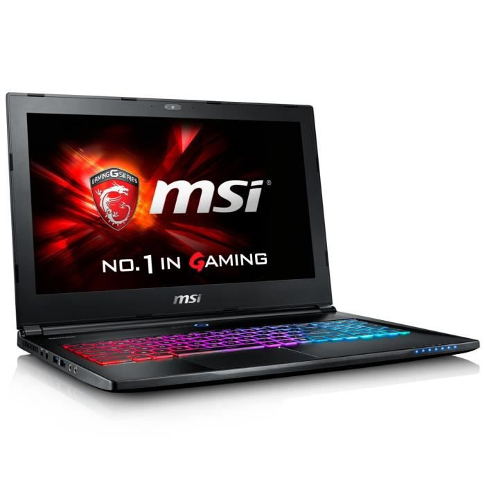 msi pc portable gamer gs60 6qc 475xfr 15 6 full hd. Black Bedroom Furniture Sets. Home Design Ideas