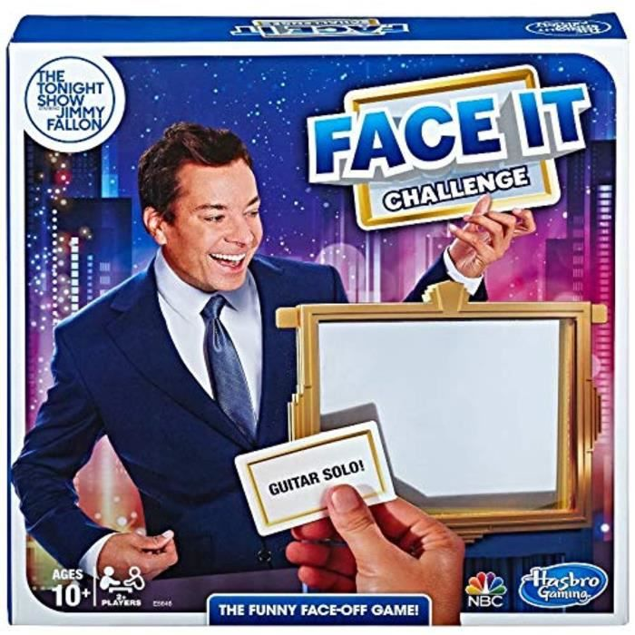 Piece Detachee Table Multi-Jeux CKC8S The Tonight Show Starring Jimmy Fallon Face It Challenge Party Game for Teens and Adults