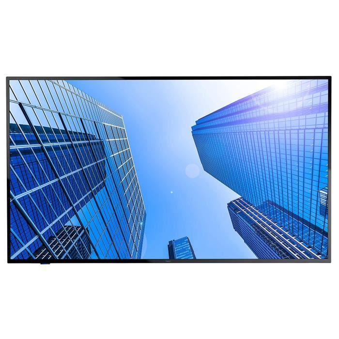 Écrans PC NEC MultiSync E437Q 108 cm (42.5-) LED 4K Ultra HD Panneau Plat de signalisation numérique Noir - Affichages d 1077