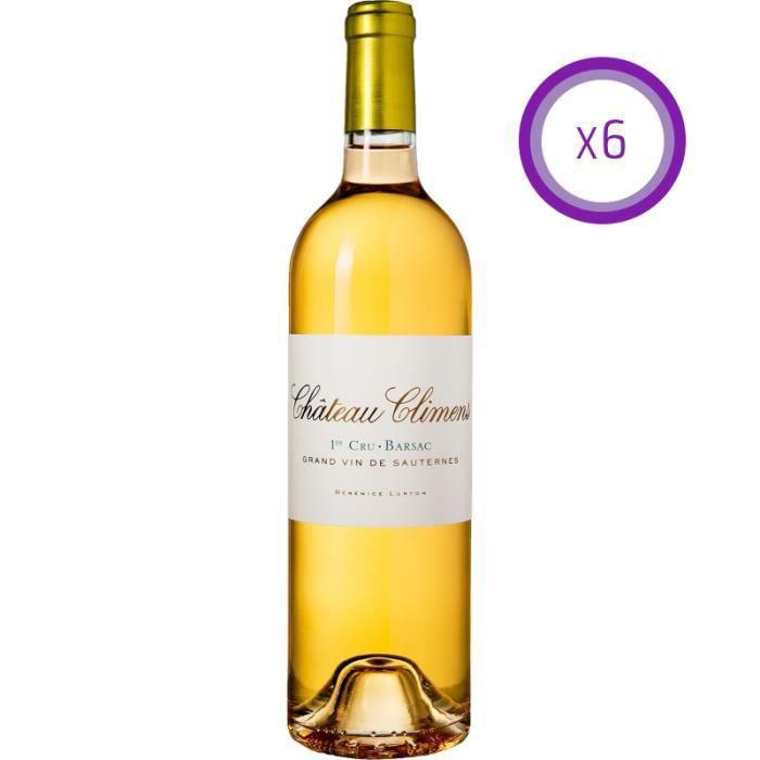 Château Climens - Liquoreux - 2016 - Carton de 6 Bouteilles 75cl