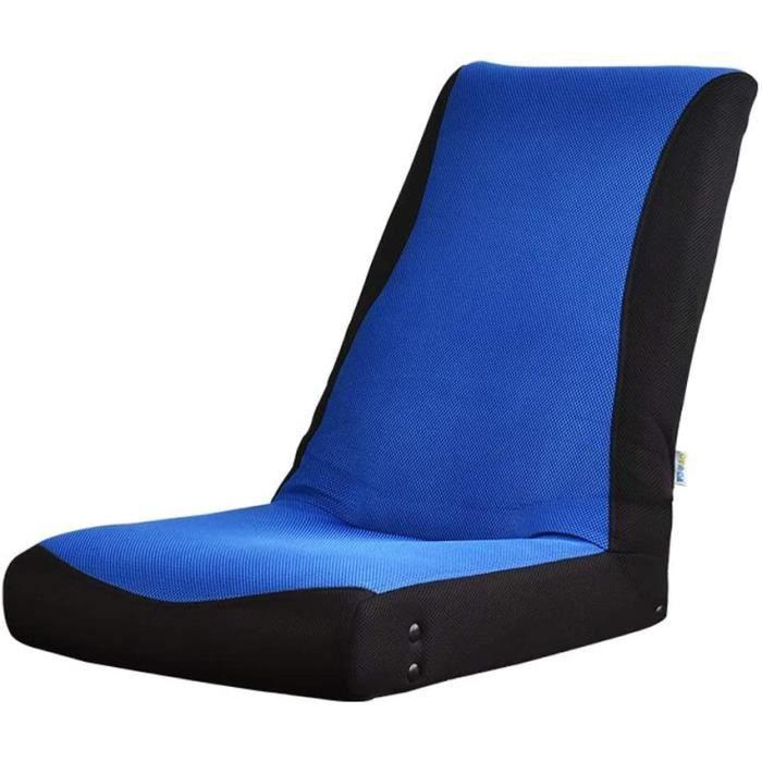 Coussins pour canapés de jardin YYHSND Canapé Pliant Paresseux Petit Canapé Simple Balcon Mini Chaise Longue Un Pouf (Co 170999