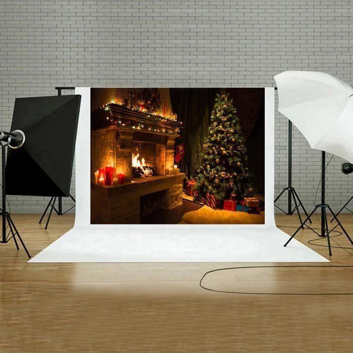 HT Mur vinyle panneaux muraux Noël 5x3FT Digital Toile de fond Photographie Studio C ds458 - HTTNS903A14074