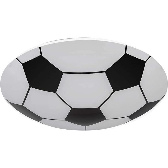 Plafonnier ballon de football à LED pour chambre d'enfantchambre à couchersalle de jeuxà suspendre au plafond et au mur D.36
