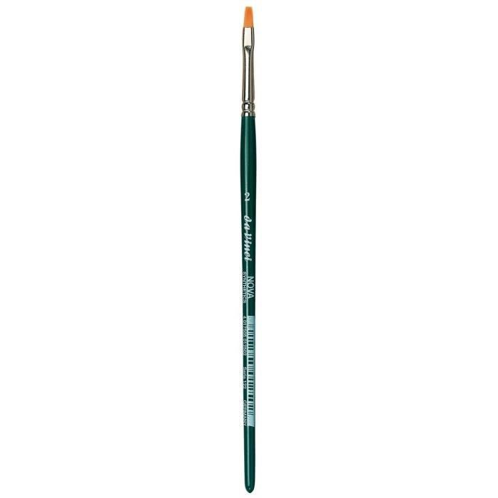 Pinceaux da Vinci Nova - Serie 122 - Brosse pour Ligne de modelage, Hobby, Fibre synthétique - Taille 2 121521