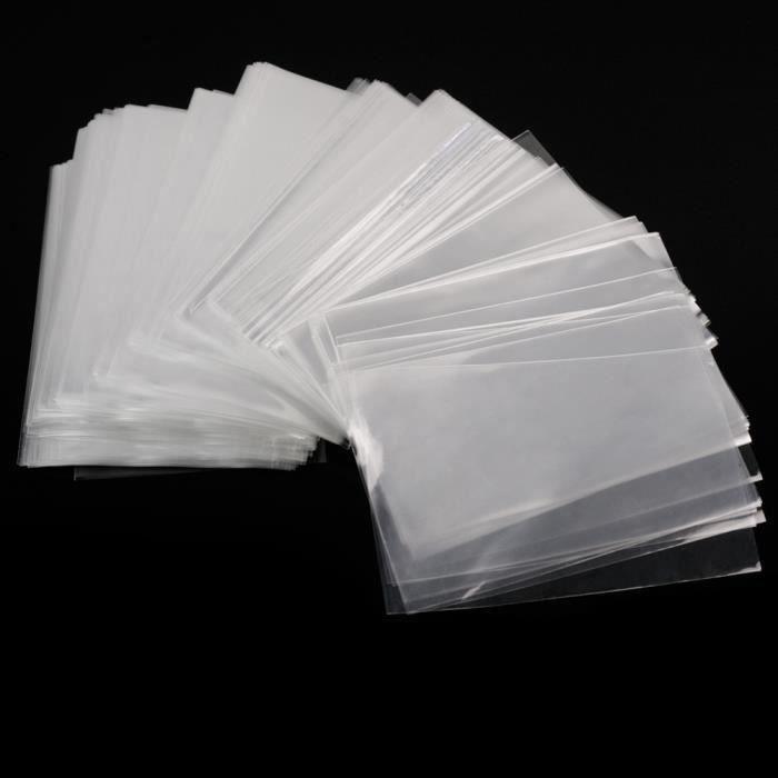100 sac sachet pochette cellophane transparent bonbon biscuit cadeau chocolat LIJFK1567