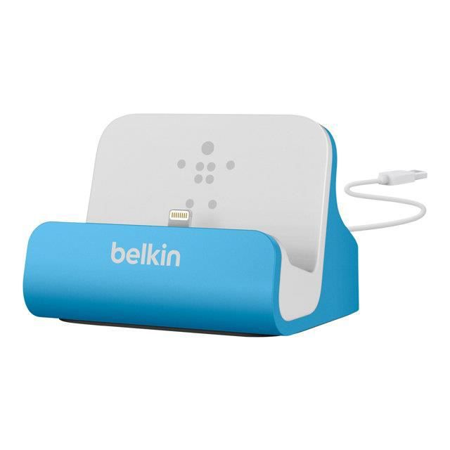 BELKIN Station d'accueil - iPhone 5 & iPod Touch 5G - Bleu