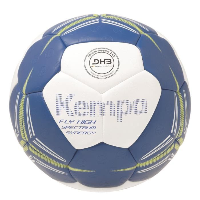 KEMPA Ballon de Handball Fly High Spectrum Synergy Primo Bleu roi et blanc