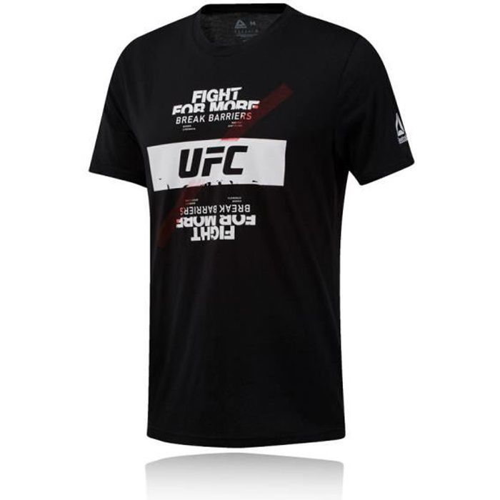 Reebok Hommes Ufc T-Shirt De Sport Entrainement