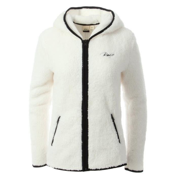 Veste polaire blanc femme Roxy Dreamer Day