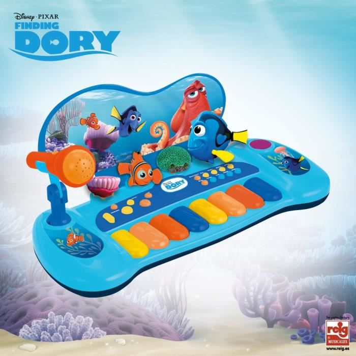 DORY Organo Avec Personnages Et Micro