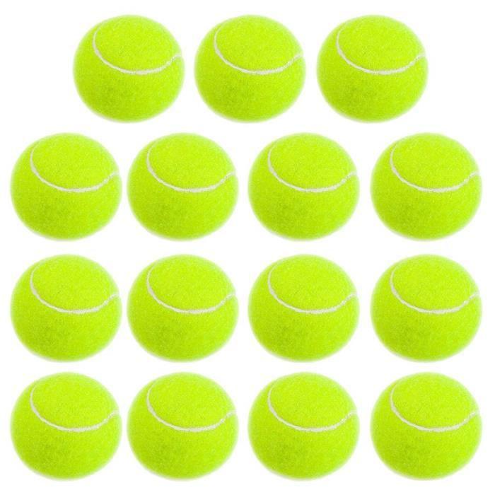 EntraîNement Sans Pression Balles de Tennis, Balles de Tennis en Caoutchouc Souple Enfants DéButants pour Animaux de Compagnie,