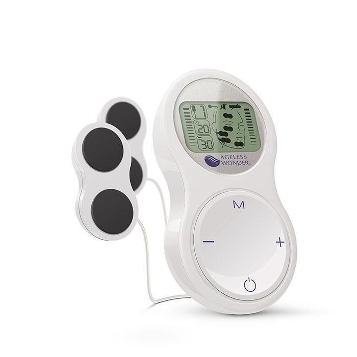 Sport-Elec - Ageless wonder - Electrostimulateur musculaire massage facial anti-rides - 6 programmes - Lifter, raffermir, tonifier