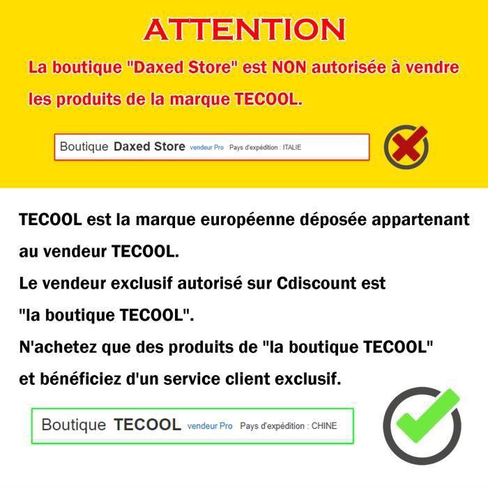 TECOOL 13 Pouce Housse pour Ordinateur Portable, Laptop Sleeve Pochette Étui pour Macbook HP Envy Dell XPS - Marron Clair