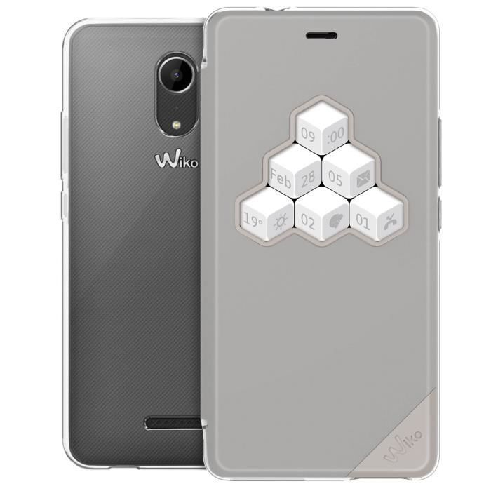 WIKO Wicube Coque pour Tommy 2 - Gris