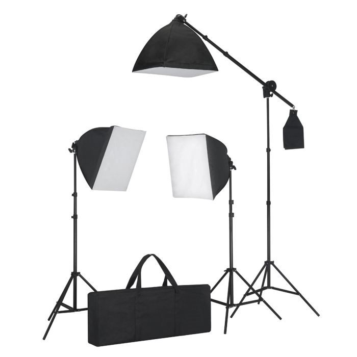 kit d 39 clairage studio photo achat vente projecteur. Black Bedroom Furniture Sets. Home Design Ideas