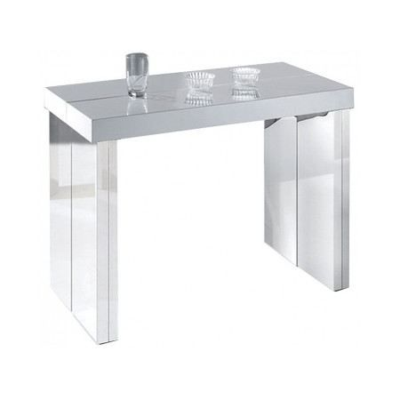 Table console extensible suprima 3 rallonges achat vente console table co - Console extensible cdiscount ...