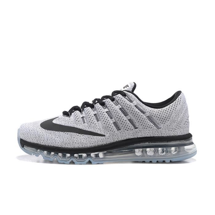 buy popular b316f 5d4bb ... Chaussures de Running Gris. BASKET Baskets Nike Air Max 2016 Sports  Running Homme Cha