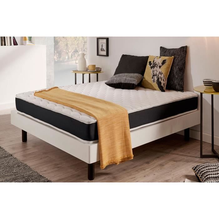 matelas ergo system 140x200 cm blue latex 7 zones de confort 2009928192475 achat vente. Black Bedroom Furniture Sets. Home Design Ideas