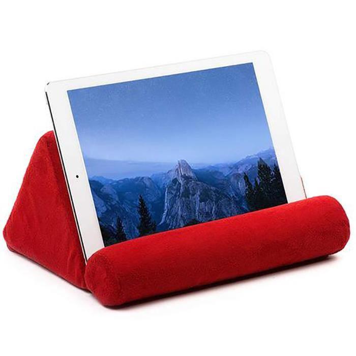 iPads tablettes et Smartphones Surenhap Porte-Livre en Bois pour Livres