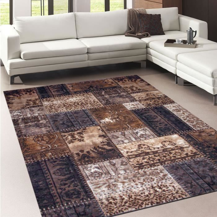 tapis salon bidume beige 200x290 par unamourdetapis tapis moderne achat vente tapis. Black Bedroom Furniture Sets. Home Design Ideas