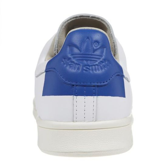 ADIDAS Baskets STAN SMITH HEEL PATCH Homme BlancBleu